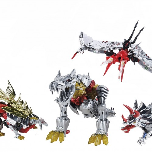 Special Edition Transformers Dinobots invading San Diego Comic-Con
