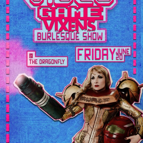 Video Game Vixens Burlesque this Friday in Los Angeles!