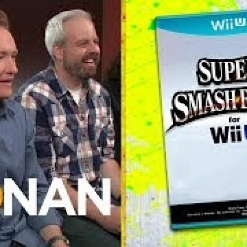 Conan plays Smash Bros Wii U