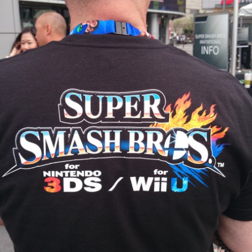 E3 2014: Thousands of fans line up for Nintendo's Super Smash Bros. Invitational
