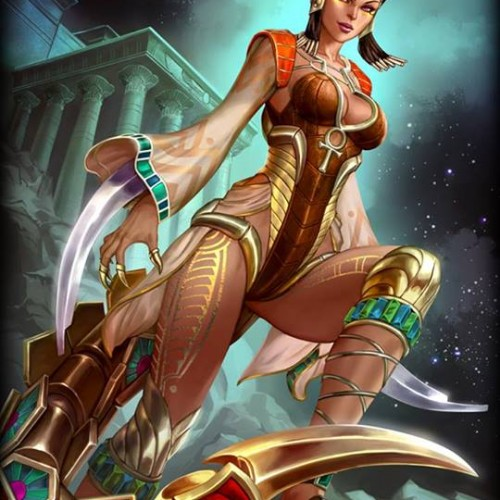 Smite Down: Serqet is Poison