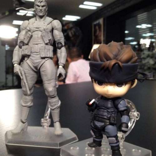 Solid Snake gets cute with Nendoroid and figma from Good Smile Company