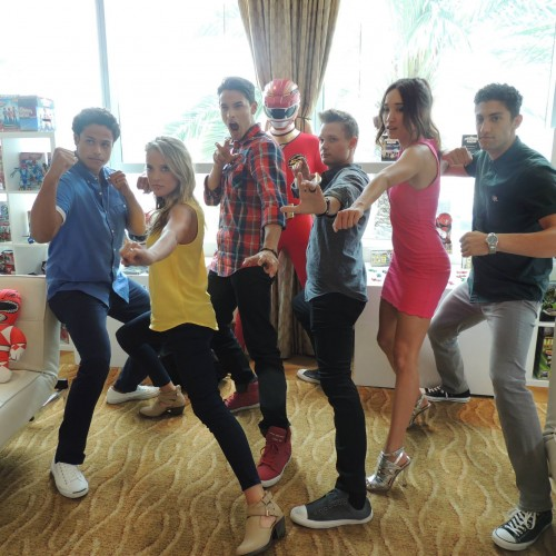 SDCC 2014: Super Megaforce Rangers and Jason David Frank