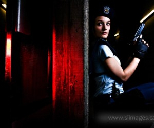 Trigger discipline can be seen in this picture of my Jill Valentine cosplay taken by SL Images.