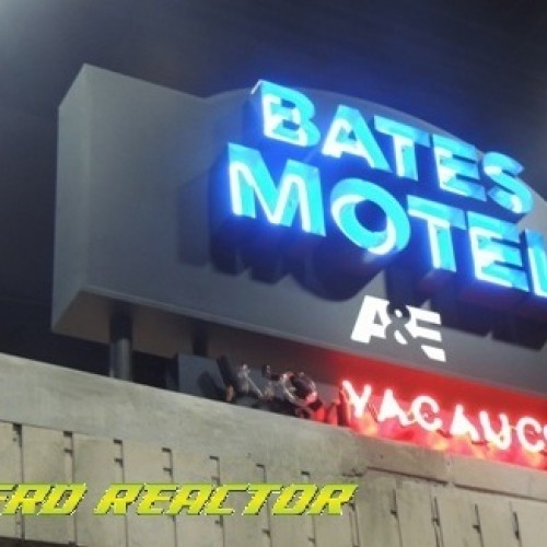 SDCC 2014: Visiting the set of the 'Bates Motel'