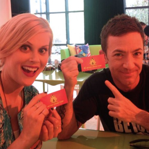 SDCC 2014: Meeting with Legend of Korra's Janet Varney and David Faustino
