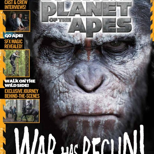 Dawn of the Planet of the Apes Souvenir Magazine