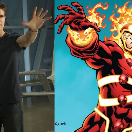 Firestorm joins The Flash