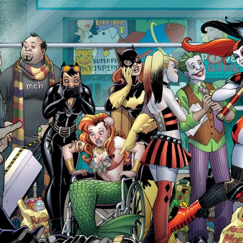 Stephen Amell appears in Harley Quinn's comic