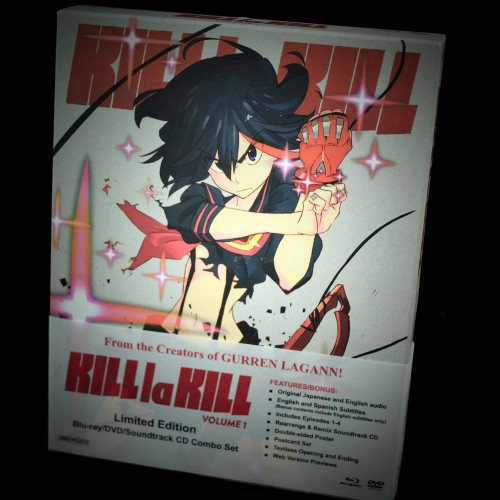 Review: KILL la KILL Volume 1 Limited Edition DVD/Blu-ray