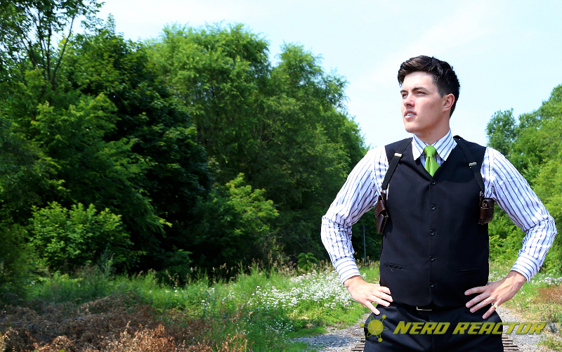 Quite the conversation starter, the LD West holster review! - Nerd