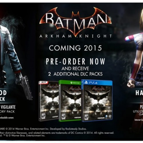 Red Hood DLC announced for Batman: Arkham Knight