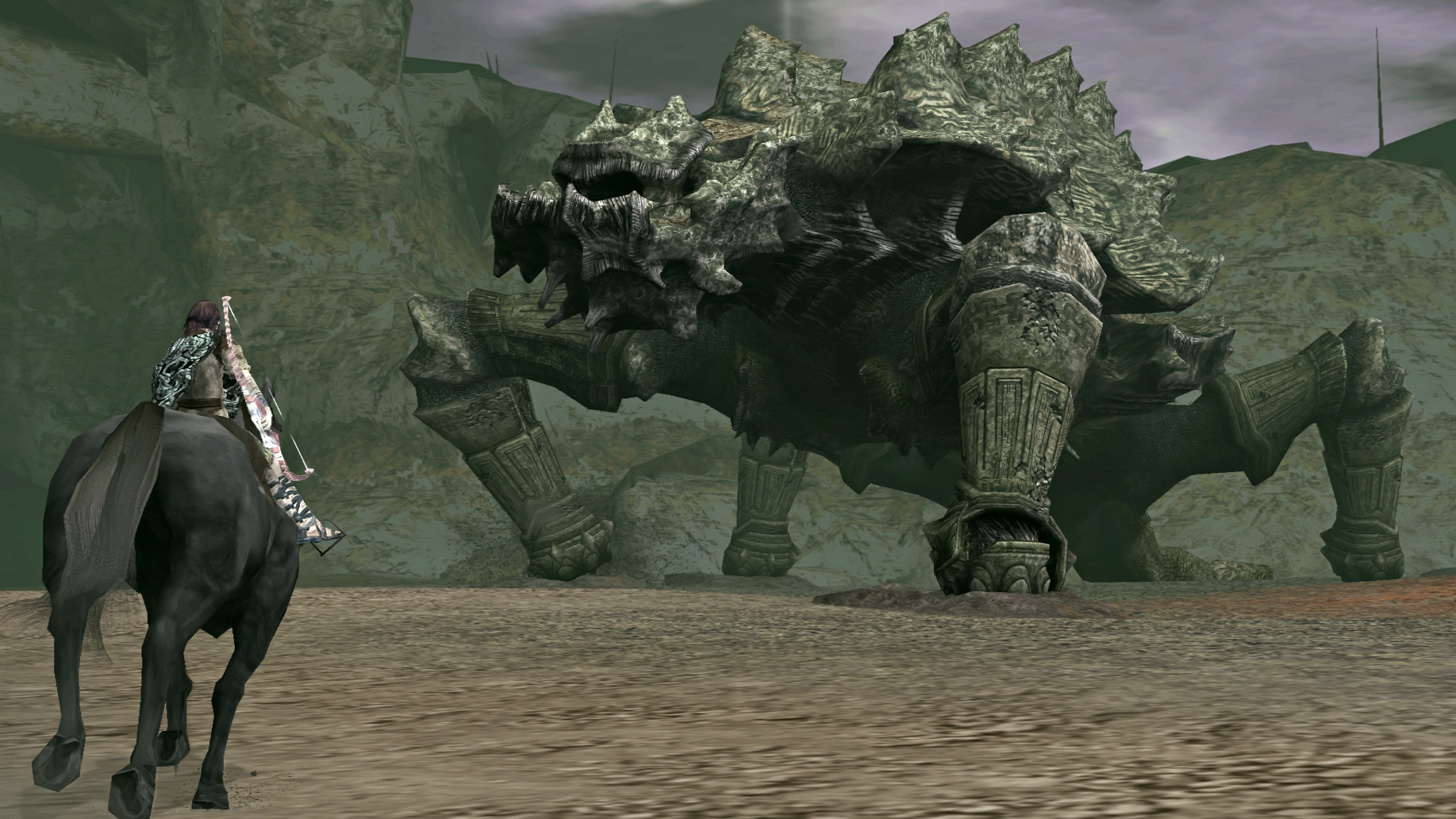 Shadow Of The Colossus SOTC Wallpaper Basaran Storm
