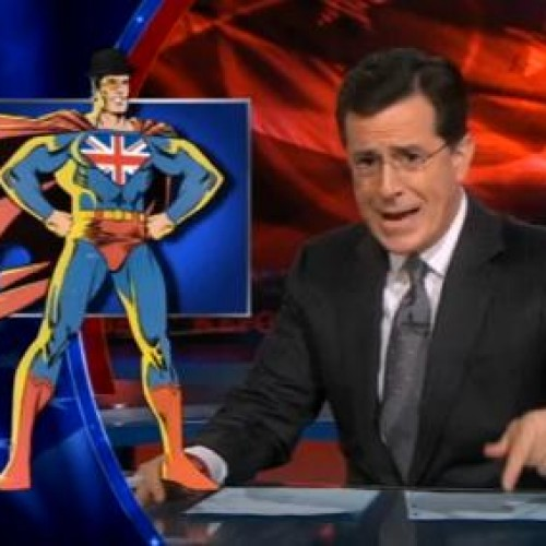 Marvel to announce new title tonight on The Colbert Report