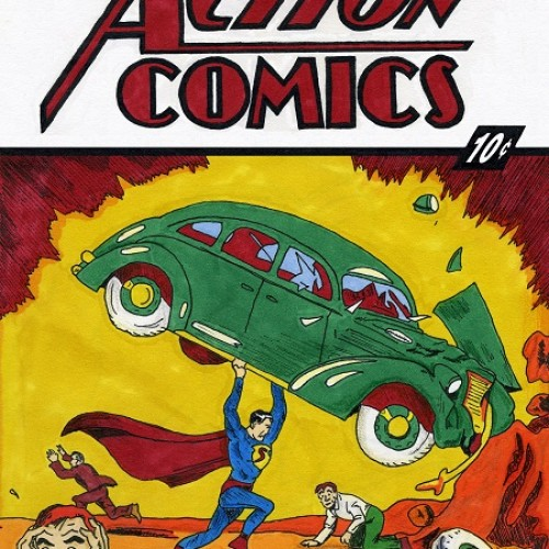Are you still looking for the original Superman comic, Action Comics #1?