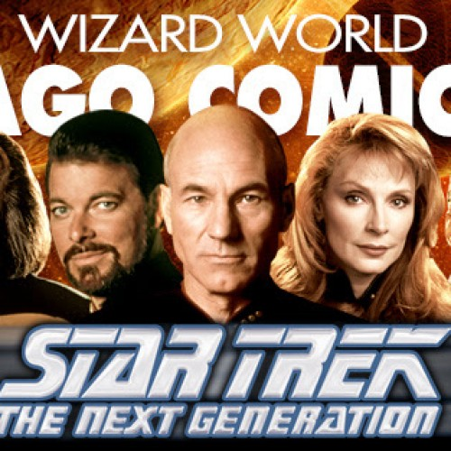 Wizard World Chicago Comic Con welcomes the cast of Star Trek The Next Generation