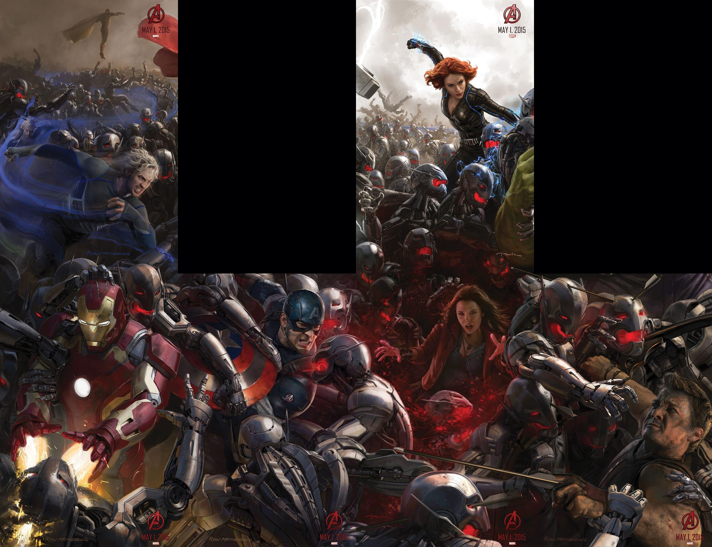 SDCC 2014: Vision, Quicksilver and Hawkeye revealed in new ...