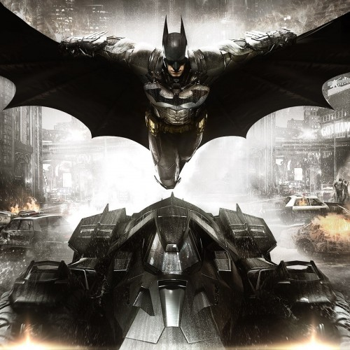 Batman: Arkham Knight art exhibit for Batman's 75th Anniversary at San Diego Comic-Con