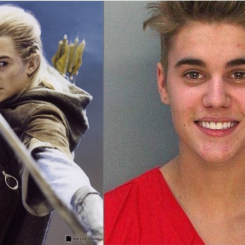 Orlando Bloom punched/punked Bieber and was applauded for it