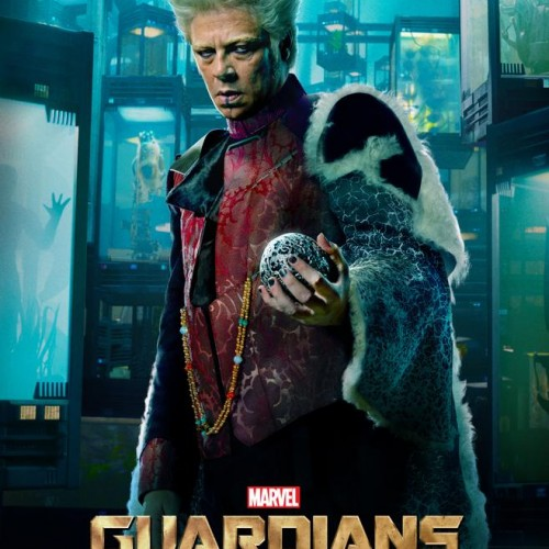 Benicio del Toro is looking mischievous in new Guardians of the Galaxy poster