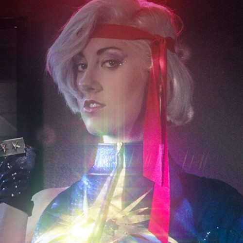 If X-Men's Dazzler had a live-action '80s music video