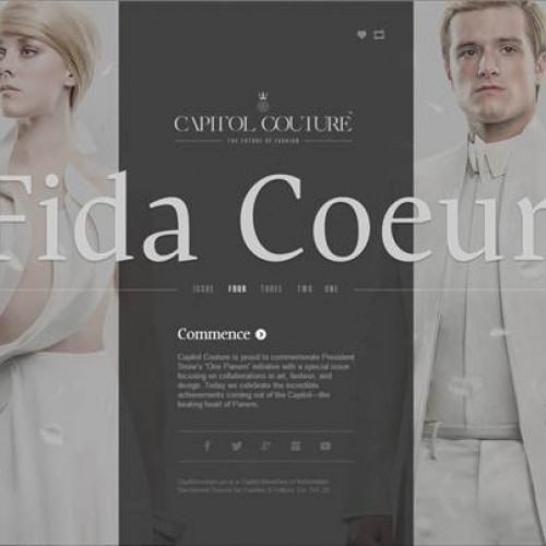 The Hunger Games: The Capitol showcases their Capitol Couture