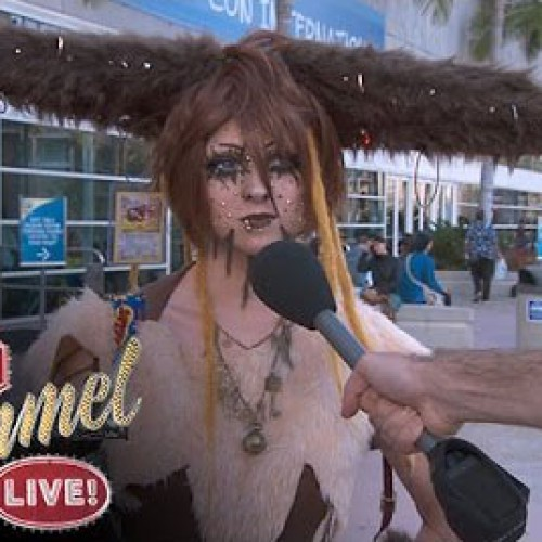 Jimmy Kimmel shames cosplayers with sexual questions
