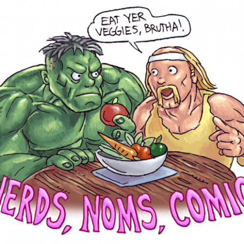 Support 'Kitchen Overlord's Illustrated Geek Cookbook' Kickstarter!