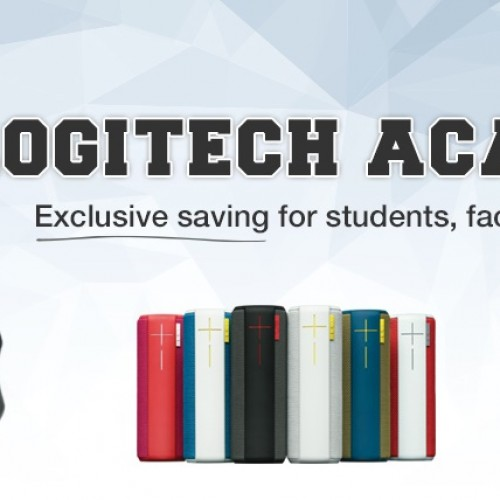 College is expensive, so Logitech wants to help you out