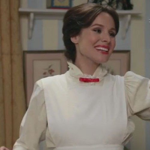 Kristen Bell as Mary Poppins and underpaid