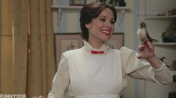 Kristen Bell As Mary Poppins Wwwpicsbudcom