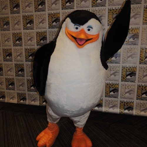 SDCC 2014: Penguins of Madagascar makes their appearance at Comic-Con!