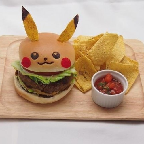 Pikachu Cafe serves up the adorable rodent on a plate