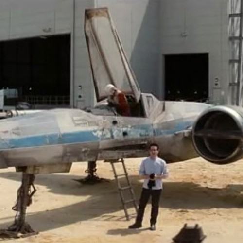 Check out the new Star Wars Episode 7 X-Wing, plus rumored plot details