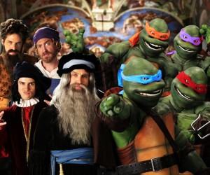 turtles vs renaissance epic rap battles