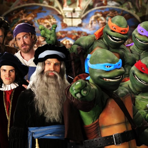Epic Rap Battles pits Ninja Turtles against Renaissance artists