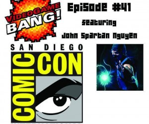 videogame bang comic con