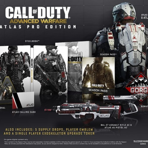 Call of Duty: Advanced Warfare Collectors Editions up for pre-order now!