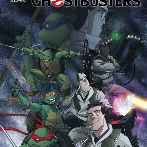 Teenage Mutant Ninja Turtles and Ghostbusters crossover coming in October