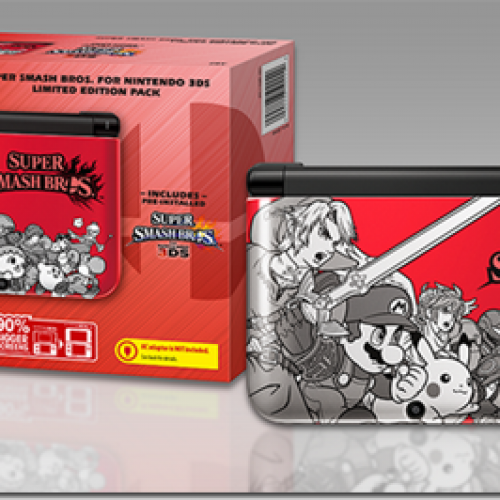 New Super Smash Bros 3DS XL Limited Edition Pack
