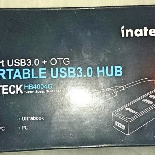 Inateck 4-Port USB 3.0 hub review