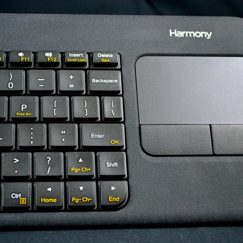 Review: The Logitech Harmony wireless smart keyboard, couch surfing at its finest