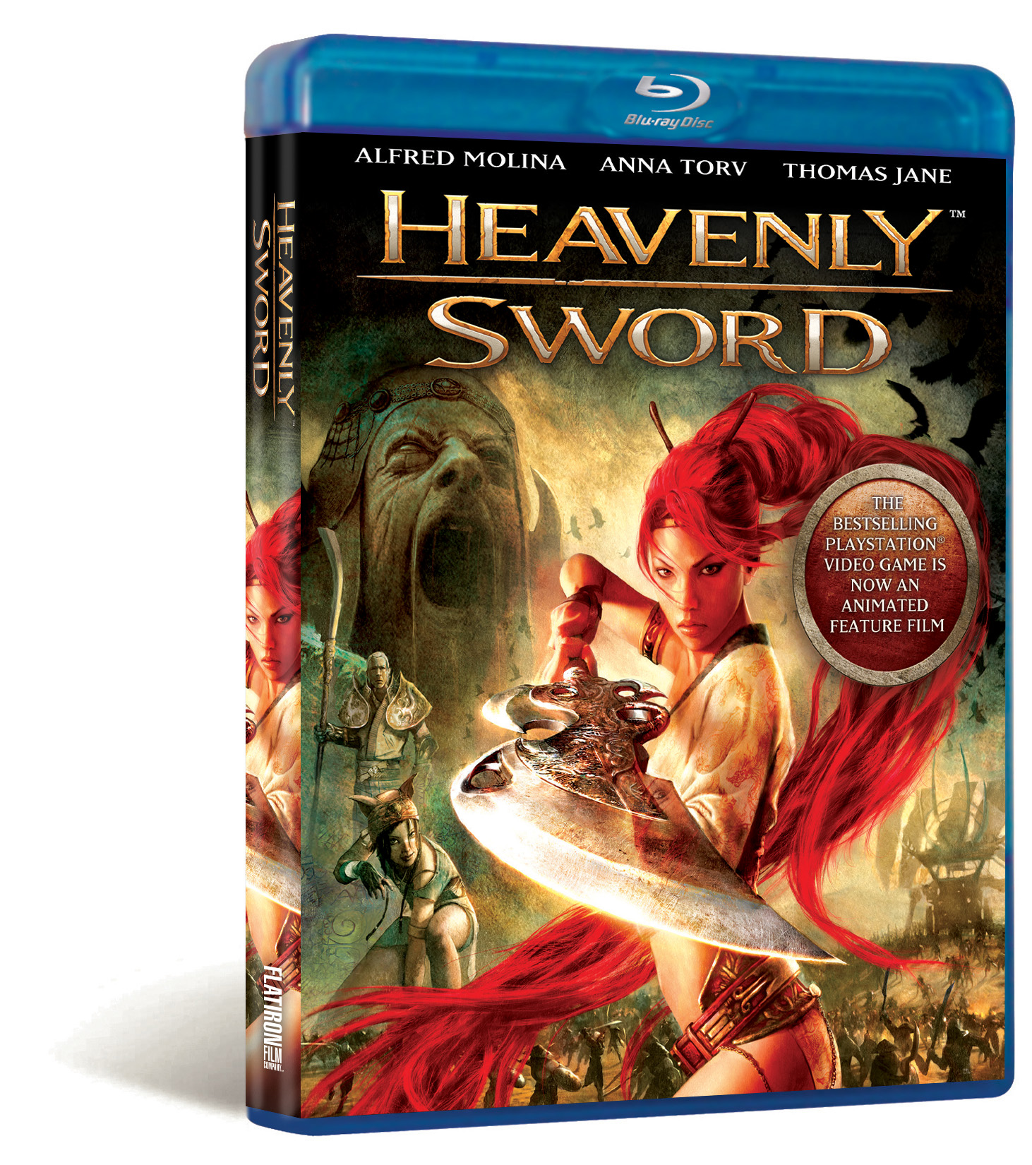 Heavenly Sword Blu Ray Review Nerd Reactor