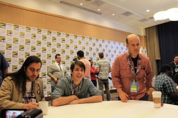 ... creator and voice of Mordecai, J.G. Quintel, along with Matt Price