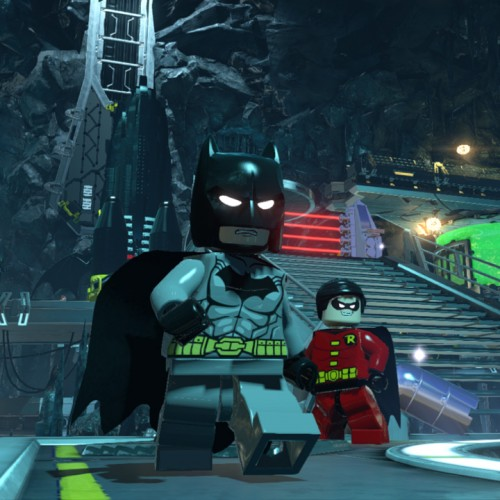 SDCC 2014: Lego Batman 3 with special guest Adam West!