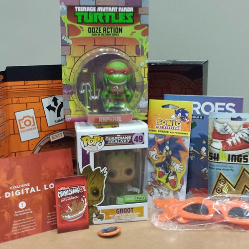 Loot Crate's August Box is here and comes with exclusive Groot Funko Pop Vinyl figure