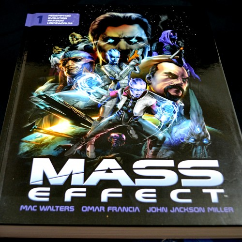 Review: Mass Effect comic collection deluxe hardcover