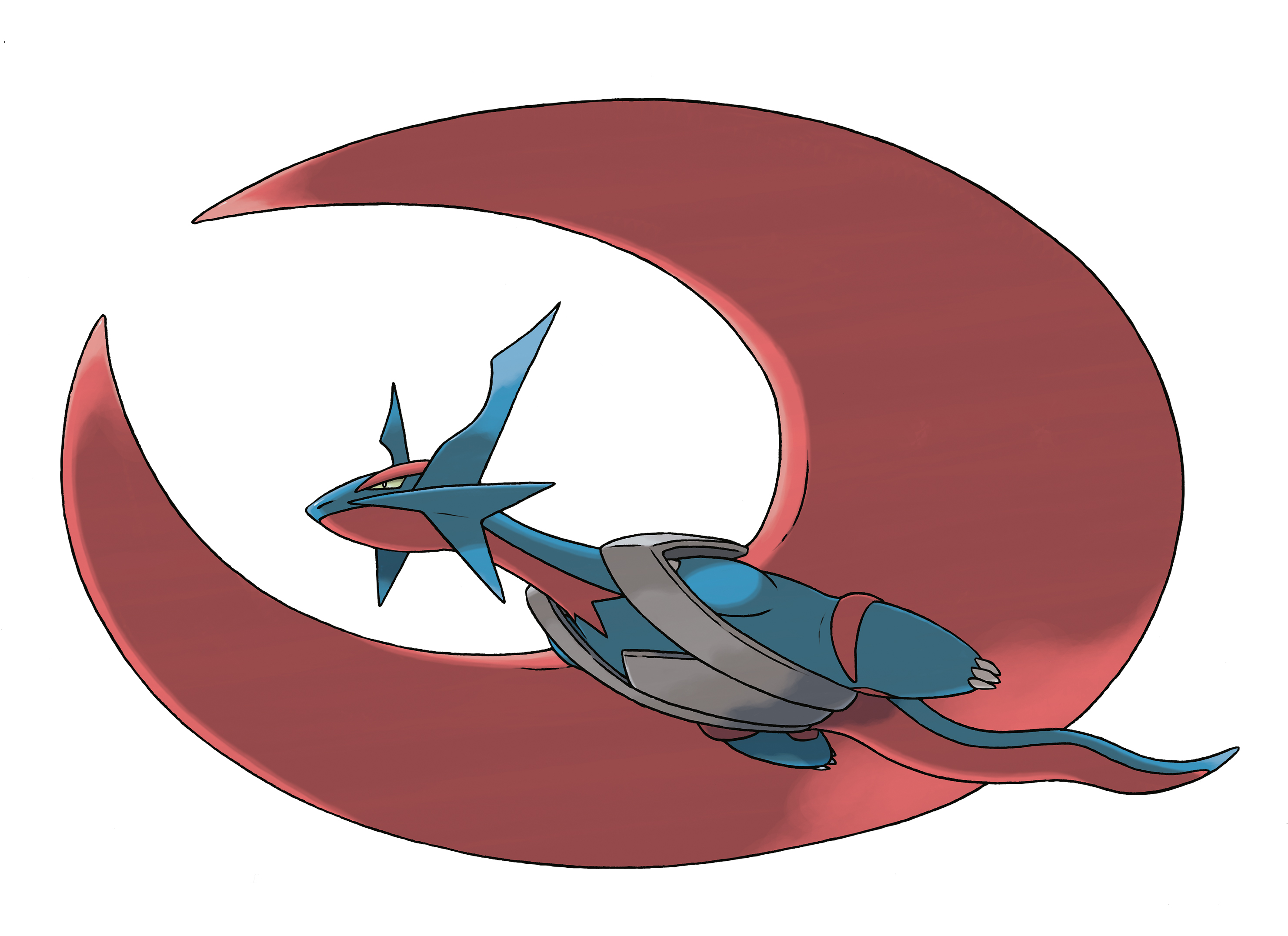 What moves can salamence learn in pokemon black