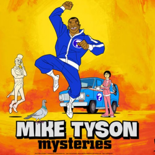 SDCC 2014: Interview with Mike Tyson and Jim Rash on Mike Tyson Mysteries
