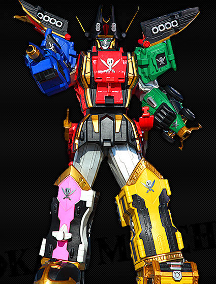 power rangers super megaforce legendary megazord figure